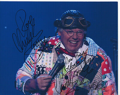 ROY CHUBBY BROWN Signed In Person 10x8 Photo Blue Comedy COA