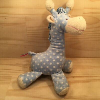 "MINKPLUSH ""Clyde"" Beautiful Kids Stuffed Giraffe Soft Toy Plush Animal Rattle"