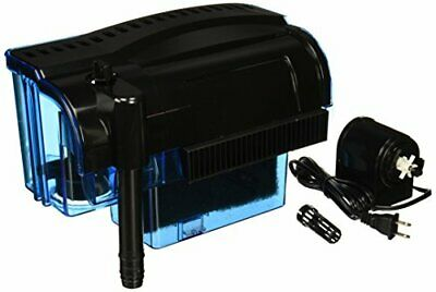 Cascade Hang-on Aquarium Filter with Quad Filtration System 300 Gallons Toxins