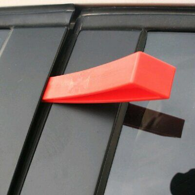 Automotive Plastic Air Pump Wedge Car Window Doors Emergency Entry Tools Red