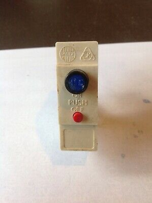 WYLEX Push Button Type B Pug In MCB 5 10 15 20 30 45 AMP Without Base Shield