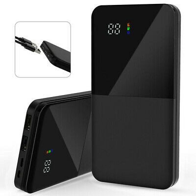 Portable 900000mAh Battery Charger Power Bank LED Dual USB For iPhone Andrioid