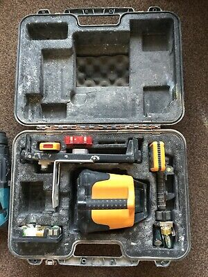 USED - FRE203 Automatic Rotary Laser Level & Plastic case And Stand