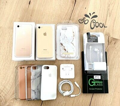 Apple iPhone 7 - 128GB - Gold (Ohne Simlock) A1778 (GSM) TOP ideal Of Sweden OVP