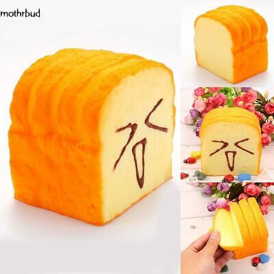 Cute Smile Super Slow Rising Sweet Smell Simulated Toast Squeeze Toy Fun M5BD 01
