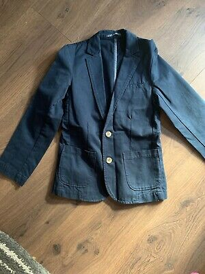 Next Navy Blue Boys Smart Casual Blazer Jacket  Age 10 Years
