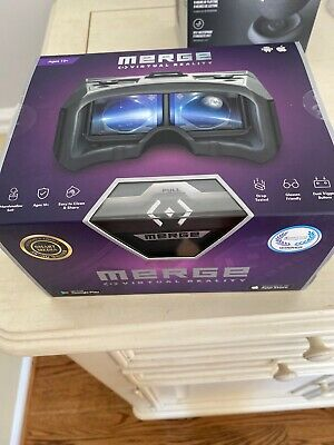 NEW Merge Virtual Reality Augmented Goggles For Android & iPhone