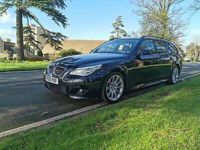 2006 BMW 530i M Sport touring in carbon black