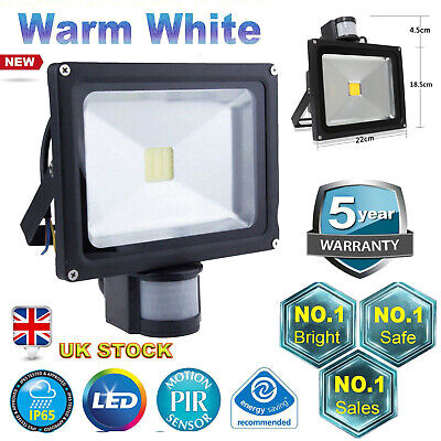 Hq200W Pir Led Floodlight Modern Security Flood Light Motion Sensor Outside Ip68