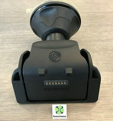 used official GENUINE TomTom Rider (2013) Car mount + dedicated car charger