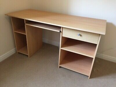 Office furniture set. Desk with matching cabinet and swivel chair. PICK UP ONLY