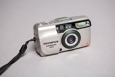 Olympus Superzoom 140S Multi AF Zoom Lens 35mm Compact Film Camera Working