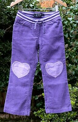 Mini Boden Girls Trousers - Size 5 Years - Purple - Vgc