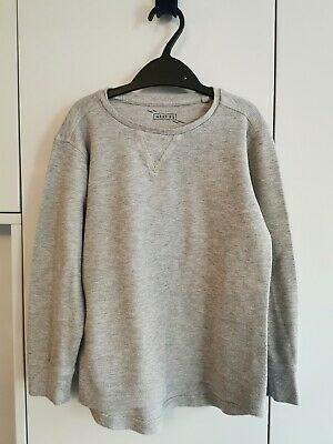 Boys Grey Long Sleeved Top Next Age 6 Yrs