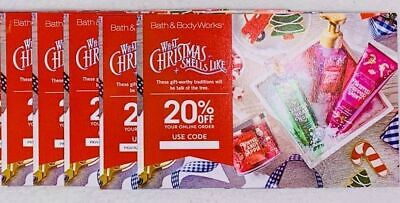 5 Bath & Body Works Coupon 20% Off Only VALID UNTIL --3-23-20