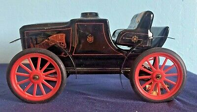 Vintage Early Times Kentucky Straight Bourbon Whiskey Chalkware Car