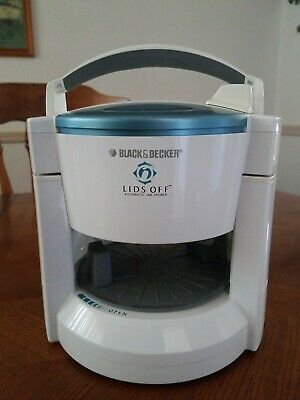 Black & Decker LIDS OFF Electric Automatic Jar Opener White works great.