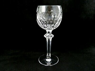 Waterford Crystal Tall Hock Wine Goblet Glass Curraghmore old mark IRELAND  QTY