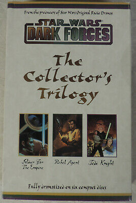 Star Wars Dark Forces: The Collector's Trilogy audio drama - 6 CD set
