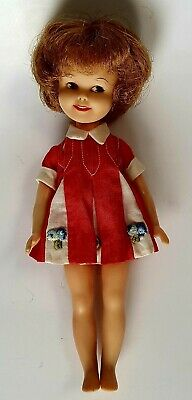 Vintage Penny Brite Doll Deluxe Reading 1963 Original Dress