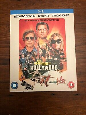 Bluray DVD-Once Upon A Time In Hollywood