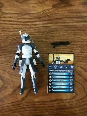 Star Wars The Clone Wars Clone Commander Wolffe Action Figure Phase One Armor