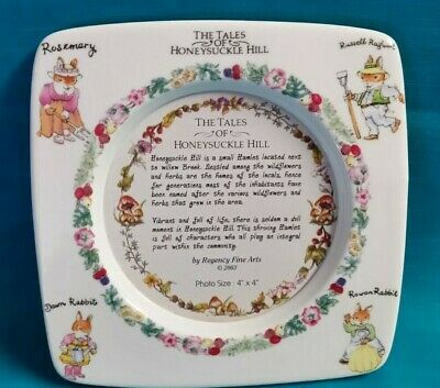 """The Tales Of Honeysuckle Hill"" Porcelain Picture Frame"