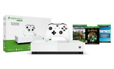 Microsoft Xbox One S All-Digital Edition 1TB White Console