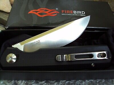 GANZO Firebird FH11-BK D2 Steel Folding Knife