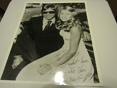 """PETERS AND LEE SIGNED PHOTO 10"""" X 8"""" 1970s EXCELLENT condition"""