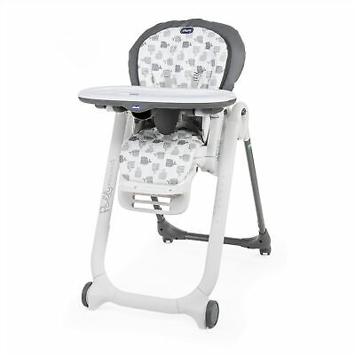 Chicco Polly Progres5 Highchair 5 In 1 Baby Toddler Feeding High Chair 0-3 Years