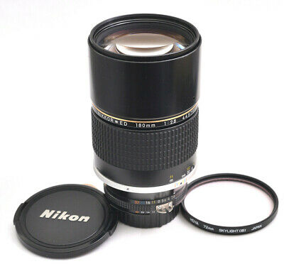 ** EXCELLENT ** Nikon Nikkor ED 180mm F2.8 Ai-s