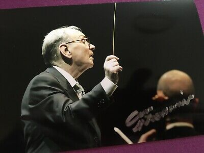 Ennio Morricone Hand Signed Autograph Photo OFFERS ABOVE STARTING BID CONSIDERED