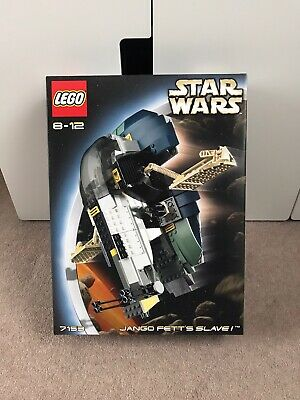 LEGO Star Wars Jango Fett's Slave I ATTACK OF THE CLONES EXTREMELY RARE *SEALED*