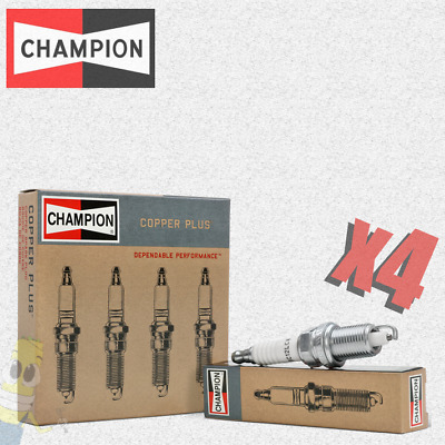 New in Box//Pack Lot of  4 CHAMPION High Output Technology Spark Plugs 2066 GOLD