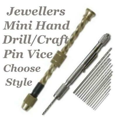 Mini Hand Drill Pin Vice Tool Jewellery & Crafts Choose Style, Beadsmith Fiskars
