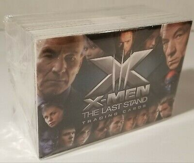 X-Men The Last Stand Trading Card Game Full Set Pack Sleeve 2006 Upper Deck