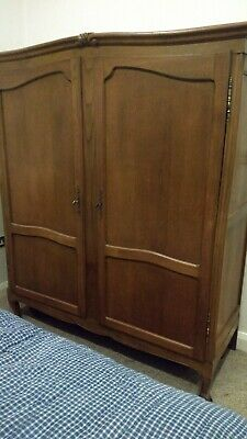 Large Antique French Armoire Wardrobe