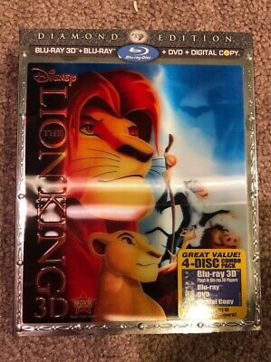The Lion King (Blu-ray/DVD, 2011, 4-Disc Set, Diamond Edition Includes...