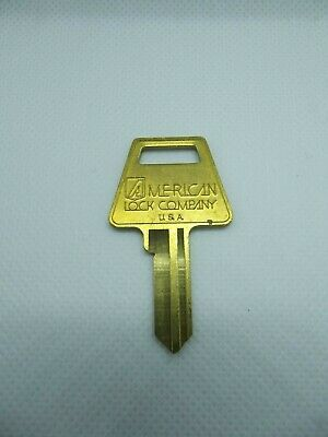 American Lock Company Brass Key Blanks