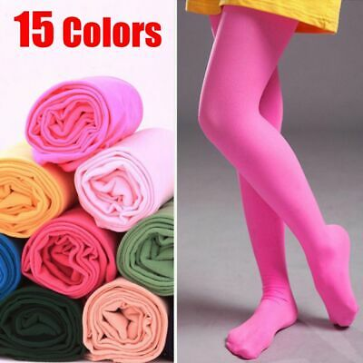 Girls Kids Children Hosiery Tights Ballet Socks Candy Color Pantyhose Stockings