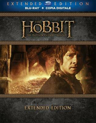 |231329| Hobbit (Lo) - La Trilogia (Extended Edition) (9 Blu-Ray) - Hobbit (The)