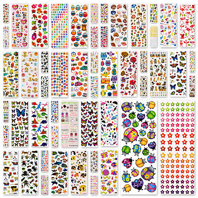 Sticker Sheets, Stickers Craft or Kids ~ BUY 1 GET 1 FREE ~ ADD 2 TO BASKET