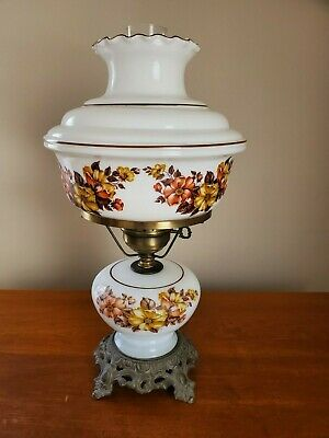 Vintage Hurricane Electric Table Lamp Gwtw