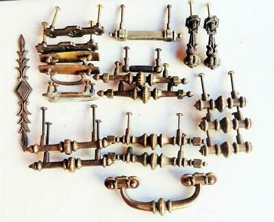 MIXED LOT ANTIQUE Furniture Drawer Knobs Pulls Hardware Architectural Salvage 88