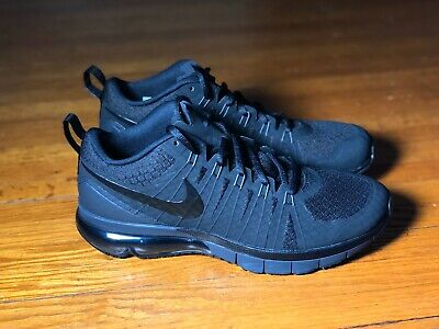 NIKE AIR MAX TR1 180 Flywire Running Shoes BlackGreen Mens