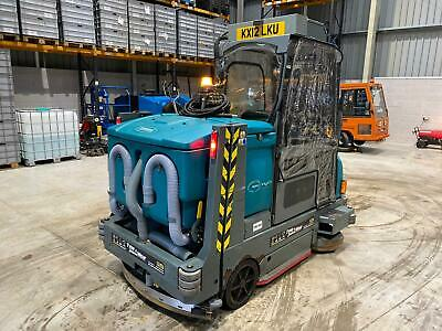 Scrubber Dryer Tennant M20 2012 Road Legal Full History Sweeper Brush