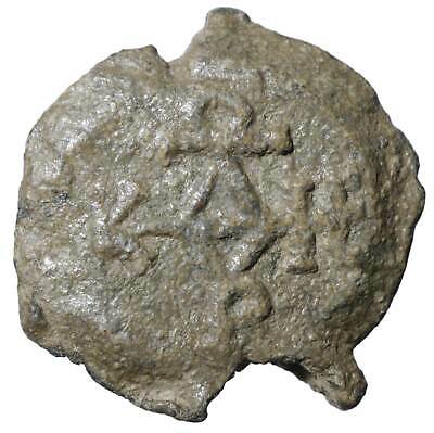 Byzantine LEAD SEALS Ancient Eagle coins Byzanz old Authentic Rare