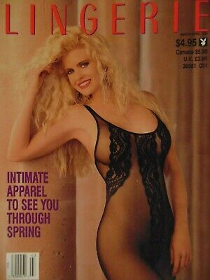 Playboy's Book of Lingerie March April 1991 | Kristine Rose      #3454
