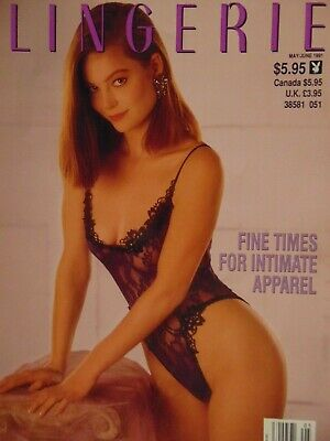 Playboy's Book of Lingerie May June 1991 |   #3662+